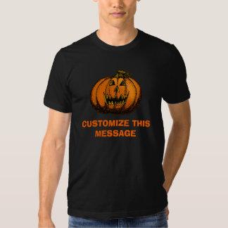 Happy Halloween Pumpkin Doodle Tee Shirts