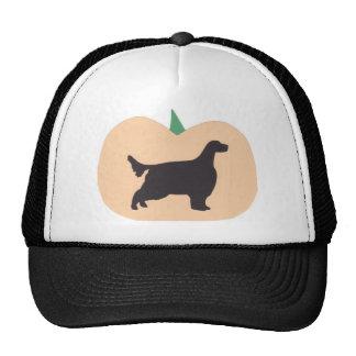 Happy Halloween Pumpkin English Setter Trucker Hats
