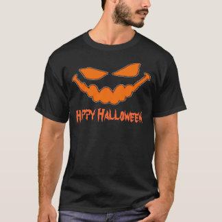 Happy Halloween Pumpkin Face T T-Shirt