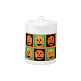 Happy Halloween pumpkin faces