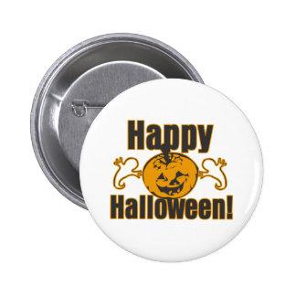 Happy Halloween Pumpkin Ghosts Costume Pin