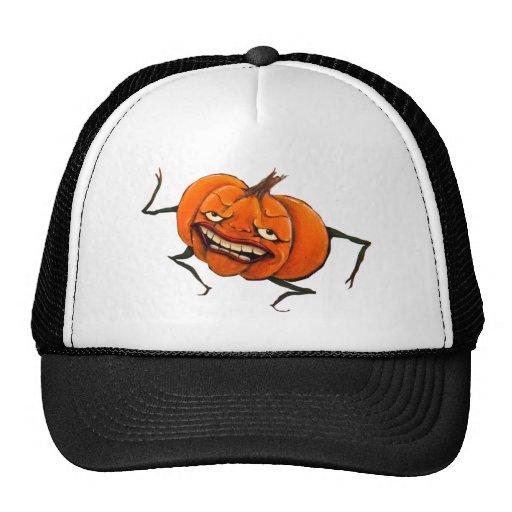 happy halloween pumpkin hat