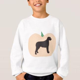 Happy Halloween Pumpkin Irish Wolfhound Sweatshirt