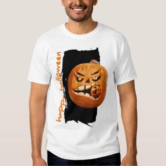 Happy Halloween Pumpkin Tee Shirt