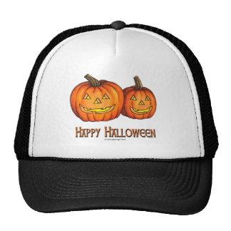 Happy Halloween Pumpkins Cap