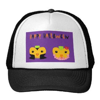 Happy Halloween Pumpkins Mesh Hats