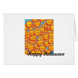 Happy Halloween Punkpkin Cards