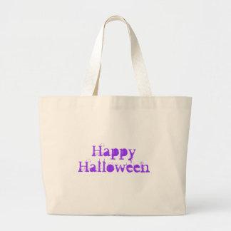Happy Halloween Purple Bag
