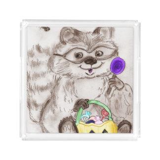 Happy Halloween Raccoon