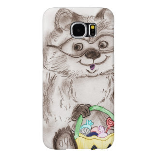 Happy Halloween Raccoon Samsung Galaxy S6 Cases