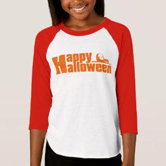 Happy Halloween RIP Pumpkin Girls Jersey T-shirt