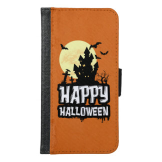 Happy Halloween Samsung Galaxy S6 Wallet Case