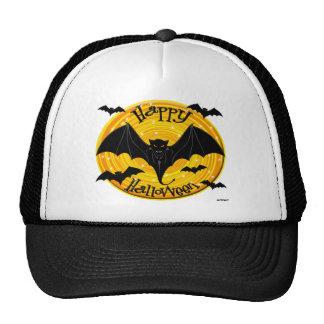 Happy Halloween Scary Bats Cap