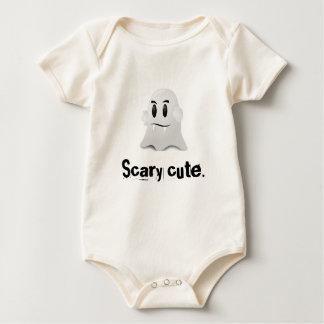 Happy Halloween scary cute kawaii vampire ghost Baby Bodysuit