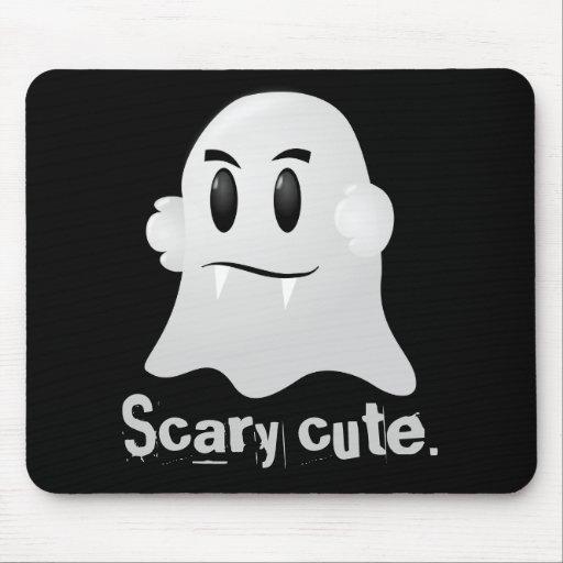 Happy Halloween scary cute kawaii vampire ghost Mousepads