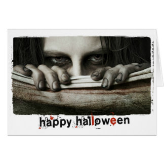 Happy Halloween scary Photography Note Card