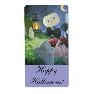 Happy Halloween! Shipping Label