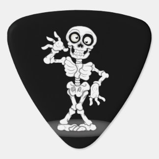 Happy Halloween Skeleton Plectrum