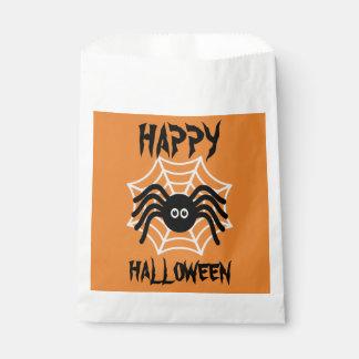 Happy Halloween Spider Favor Bags