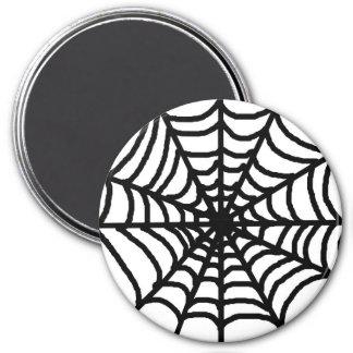 Happy Halloween Spider Web Magnet