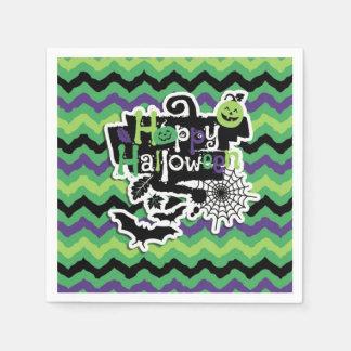 Happy Halloween Spooky Fun Paper Napkin
