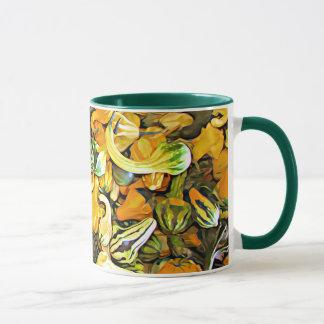 Happy Halloween Squash and Goards Coffee Mug