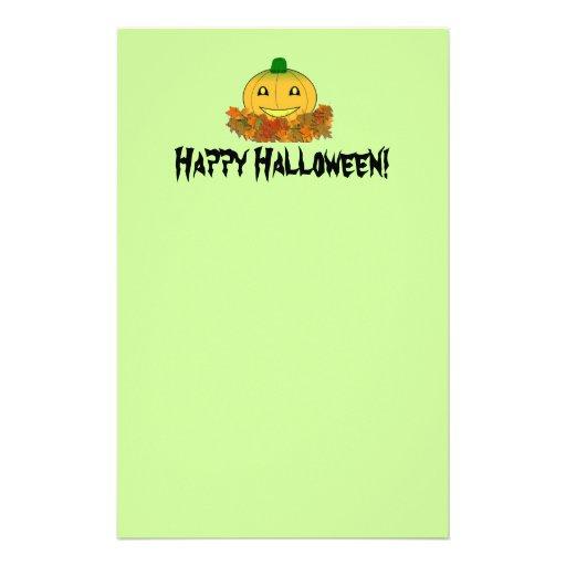Happy Halloween! Stationery (Green)