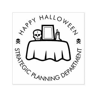 Happy Halloween Strategic Planning funny Self-inking Stamp