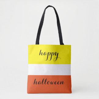 Happy Halloween Sweet Candy Corn Tote Bag