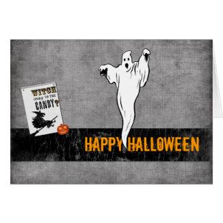Happy Halloween tcard Greeting Card