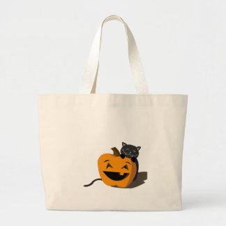 Happy Halloween! Jumbo Tote Bag