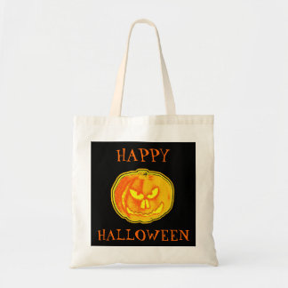 Happy Halloween! Trick or Treat! Bag Budget Tote Bag