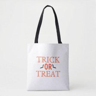 Happy Halloween Trick or Treat Bats Tote Bag