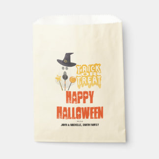 Happy Halloween Trick or Treat Goodie Bag Favour Bags