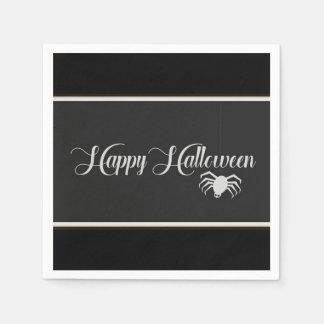 Happy Halloween Typography Disposable Serviettes