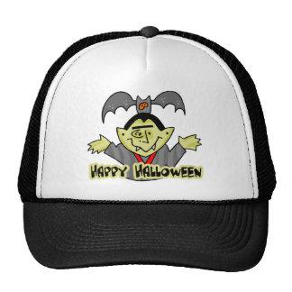 Happy Halloween Vampire Mesh Hats