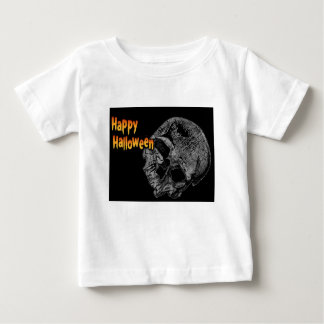 Happy Halloween Vintage Skull Baby T-Shirt