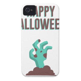 Happy Halloween Walking Dead Zombie Corpse Design iPhone 4 Case