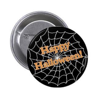 Happy Halloween Web 6 Cm Round Badge