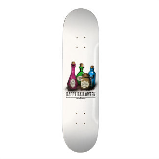 Happy Halloween! Witch Potion Bottles Skate Board Decks