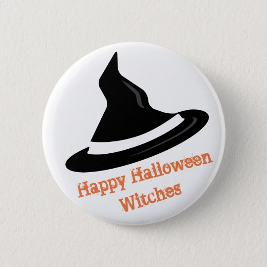Happy Halloween Witches - Bitches 6 Cm Round Badge