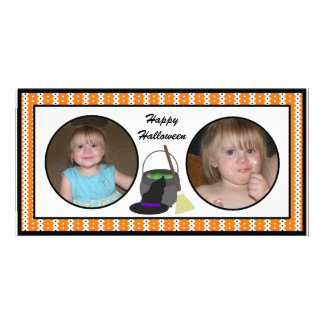 Happy Halloween Witch's Cauldron  Photo Cards