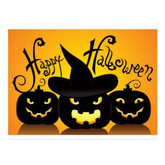 Happy Halloween Witchy Poo Postcard