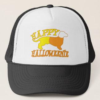 Happy Halloweenie Trucker Hat