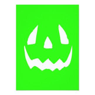 Happy Hallowgreen 14 Cm X 19 Cm Invitation Card