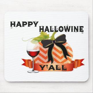 Happy Hallowine Mouse Pad