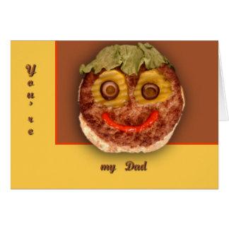 Happy Hamburger Greeting Cards