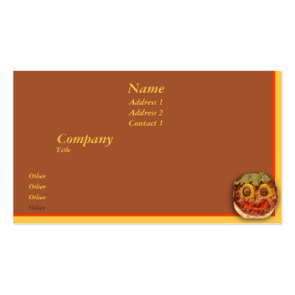 Happy Hamburger Pack Of Standard Business Cards