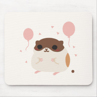 Happy Hamster's Perfect Morning Poop Mouse Pad
