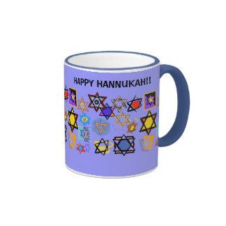 HAPPY HANNUKAH MUGS